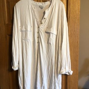 Cream blouse